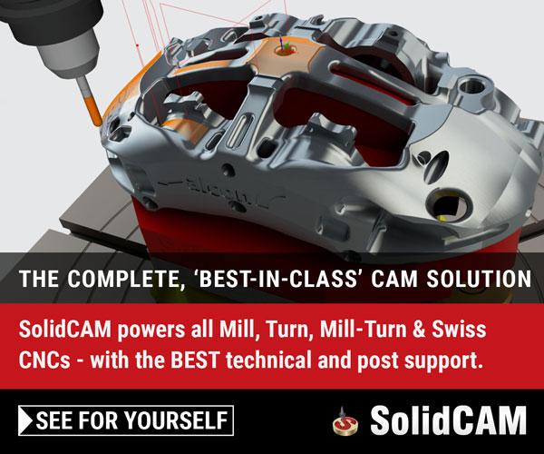 SolidCAM完整的CAM解决方案