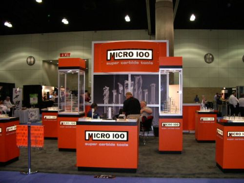 Micro 100 booth