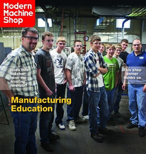 Modern Machine Shop cover