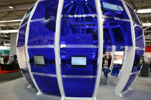 Delcam's globe display