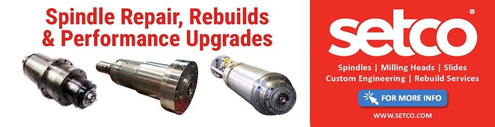 Spindle Repair, Rebuilds, Performance Upgrades