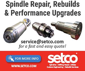 Spindle Repair, Rebuilds & Performance Upgrades