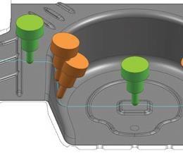 CAM toolholder collisions