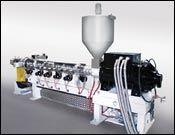 SML's 75-mm high-speed extruder