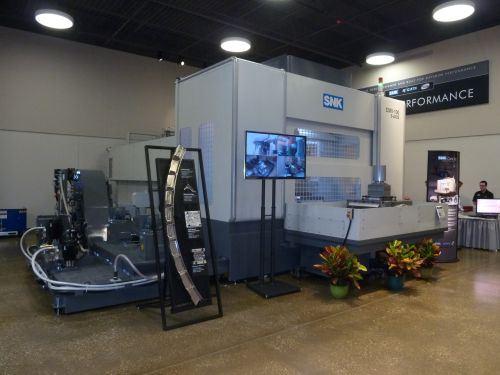 SNK CMV-100 five-axis machining center