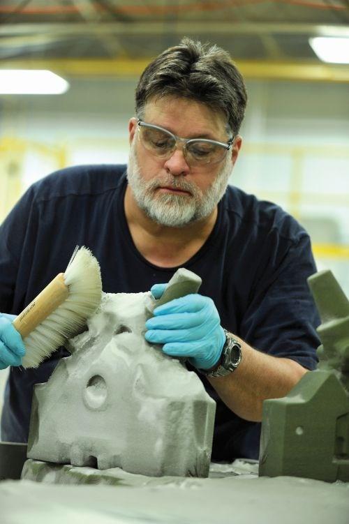 Ford technologist Dennis DuBay