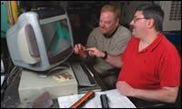 Sam Krutt and Bill Schneider
