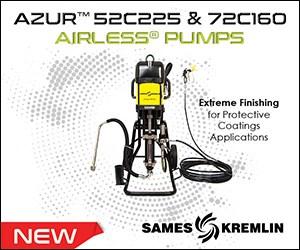 Sames Kremlin Azur Airless Pumps