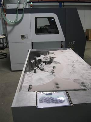 sand printing