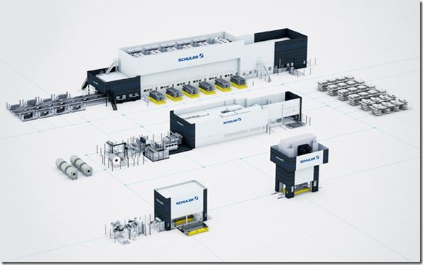 Porsche and Schuler Partner in Press Shop image