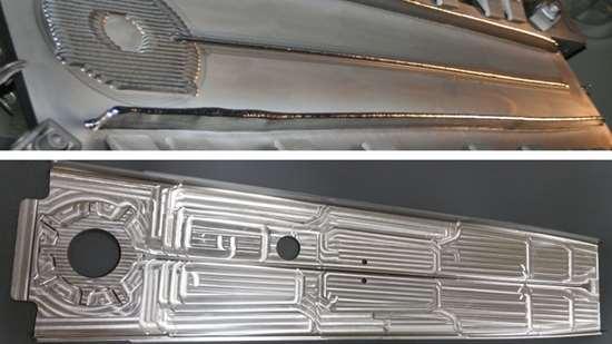 Airbus rear upper spar