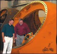 Scott Kramer (left) and Dave Myers