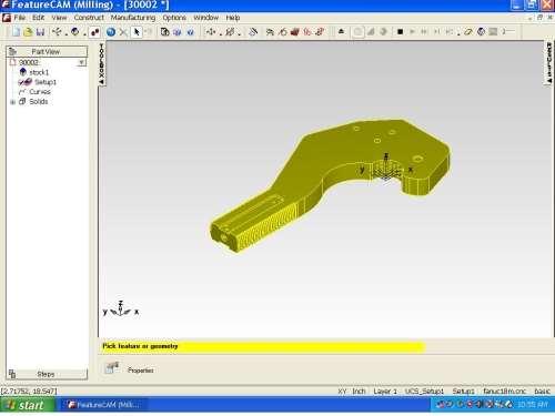 Delcam Featurcam software