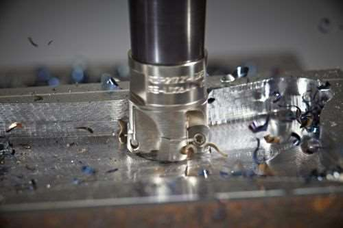 small diameter high-feed milling tool