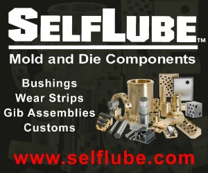 Self Lube Mold and Die Components
