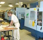 Seven vertical machining centers