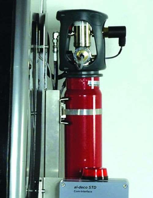 machine tool fire suppression