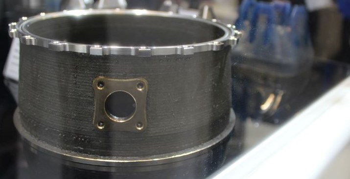 scaled down turbine casing made with hybrid