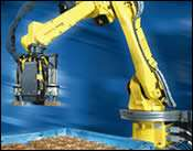 Six-axis, jointed-arm robots