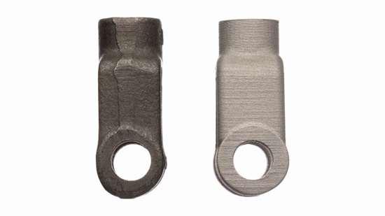 Desktop Metal part versus casting