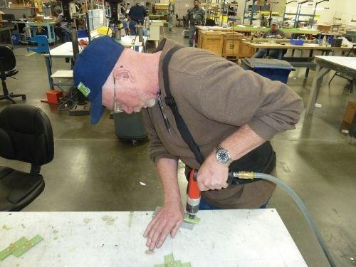 George King a Skills Inc. assembly technician