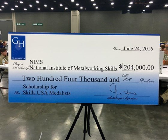 $204,000 prize at SkillsUSA.