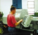 Slabe's First Swiss-Type CNC Lathe