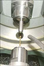 Small Drill On Rotary Transfer Machine