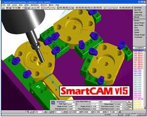 SmartCAM v15.0 interface