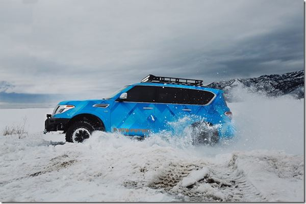 Nissan Goes Snow Patrol for Chicago image