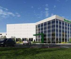 Sodick U.S. corporate headquarters rendering
