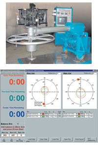 Software that calculates how to balance molds