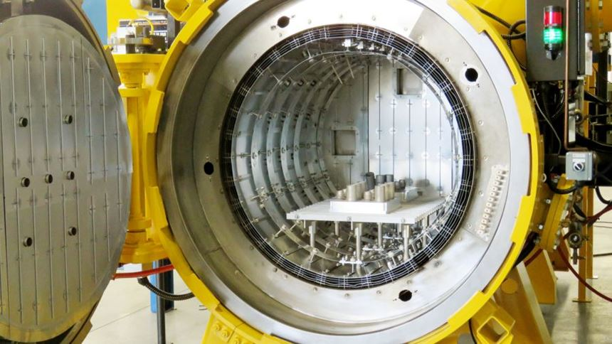 Solar Atmospheres furnace