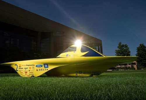 UM solar car