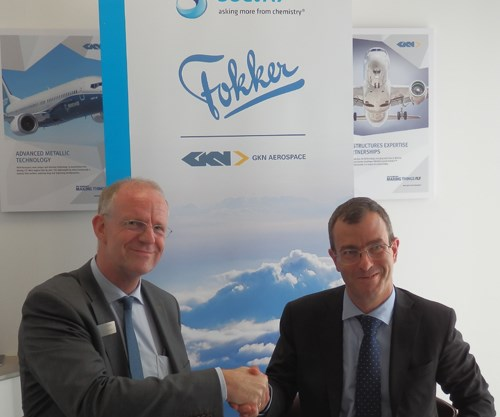 Solvay GKN Aerospace Fokker thermoplastic composites