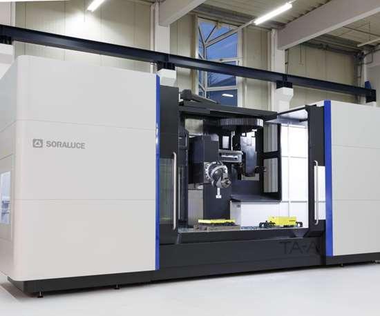 Soraluce TA-A 35 bed-type milling machine