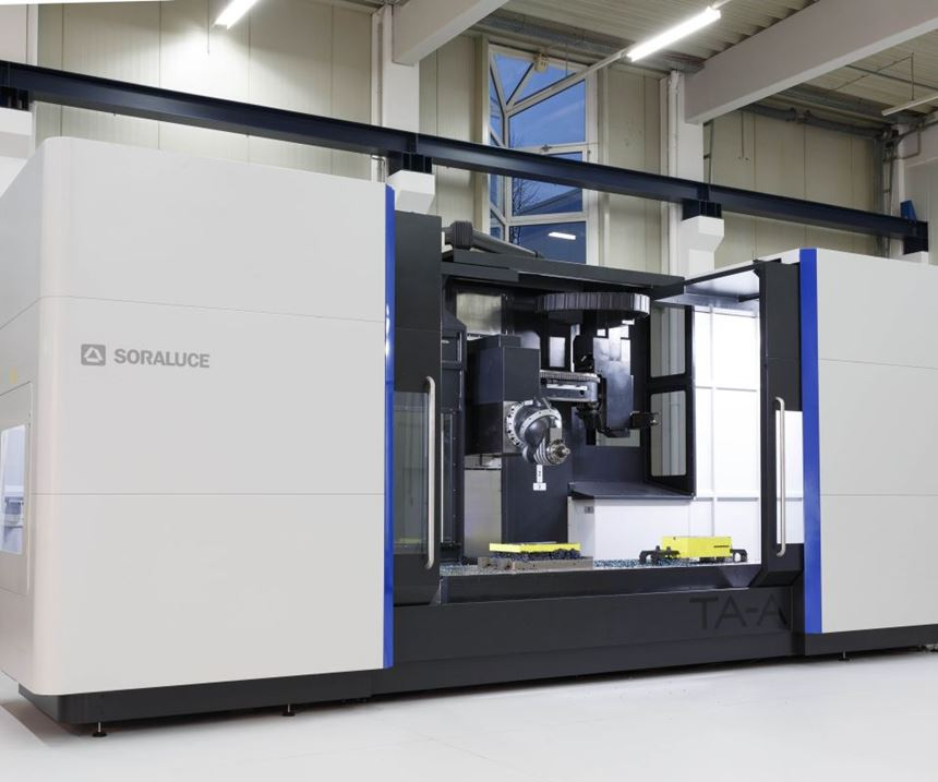 Soraluce TA-A 35 bed-type milling machine