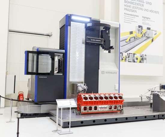 Soraluce FP 10000 floor-type milling-boring center