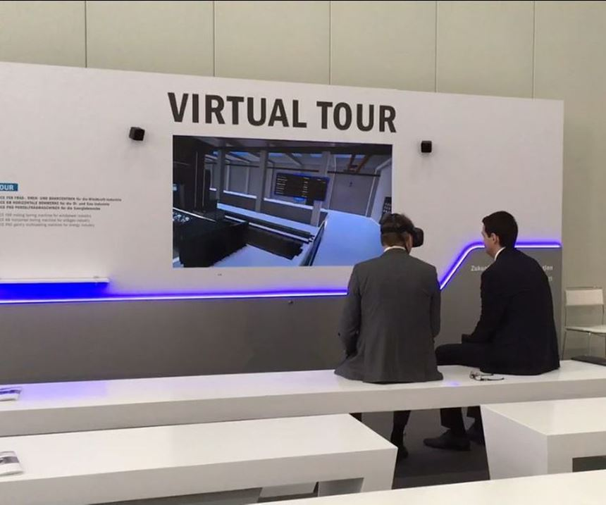 Soraluce virtual reality machine tool tour