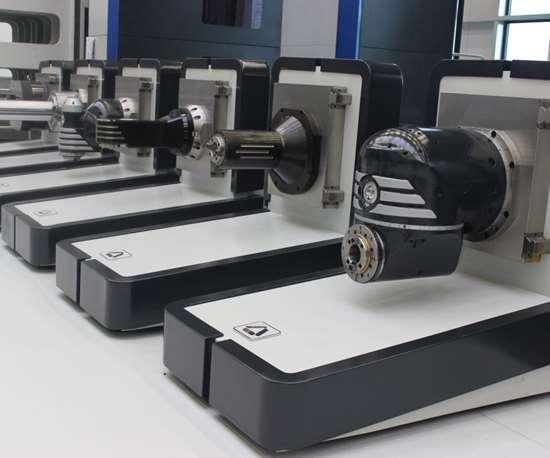 Soraluce exchangeable machine tool heads