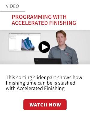 Mastercam Accelerated Finishing