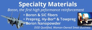 specialty materials  boron and SiC fibers