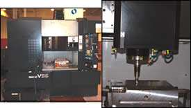 Speed machining center