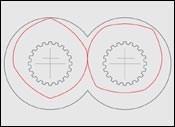 Steer's self-wiping Fractional Lobe Elements