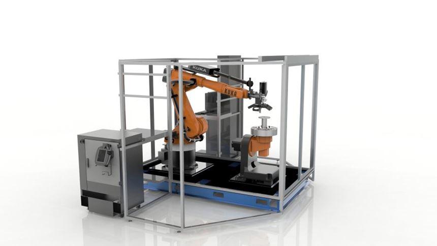 Stratasys Robotic Composite 3D Demonstrator