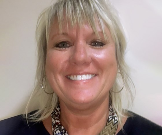 Sue Ivancic, account executive in Nordson's powder coating division.