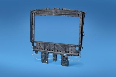 Cadillac sunroof module in PP from Asahi Kasei Plastics North America