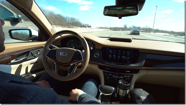 The 2018 Cadillac CT6 will feature Super Cruise™, the industry's first true hands-free driving technology for the highway.