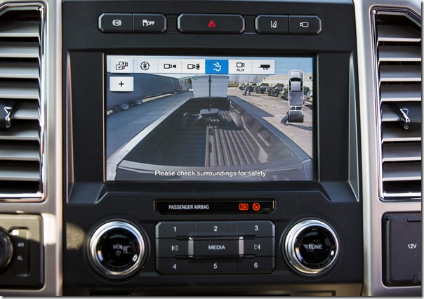 Super Duty Trailer Reverse Guidance CHMSL camera