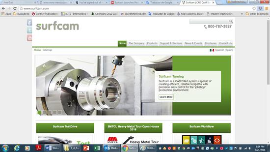 Surcam lanza nuevo website